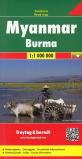 Birma mapa 1:1 000 000