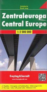 Europa Środkowa mapa 1:2 000 000