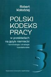 Polski kodeks pracy w przekładach na język niemiecki