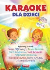 Karaoke dla dzieci. Książka + 2 płyty gratis (CD i DVD)