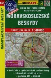 Moravskoslezske Beskydy 1:40 000
