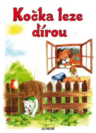 Kočka leze dírou - Vladimíra Vopičková