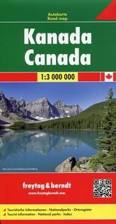Kanada Mapa 1:3 000 000