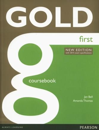 Gold First 2015: Coursebook - Náhled učebnice