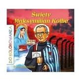 Do kolorowania. Święty Maksymilian Kolbe