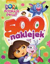 Dora poznaje świat  500 naklejek  FBS-602