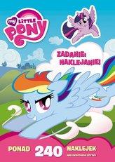 My little Pony. Zadanie: Naklejanie  LAS-2004