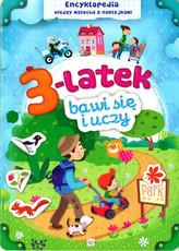 3-latek bawi się i uczy. Encyklopedia wiedzy malucha
