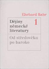 Dějiny německé literatury 1