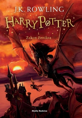 Harry Potter i Zakon Feniksa. Tom 5 - Rowling Joanne K.