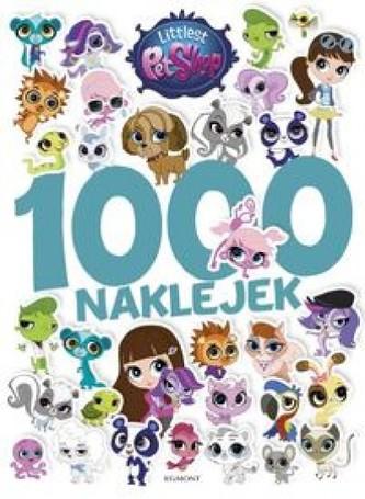 Littlest Pet Shop. 1000 naklejek - Praca zbiorowa