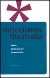 Miscellanea Theatralia