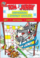 Tom i Jerry. Łamigłówki i zabawy logiczne. Czerwona
