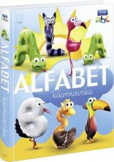 Alfabet kolorowanka