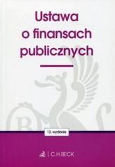 Ustawa o finansach publicznych.  Wydanie 13.  St.pr. 10.2016