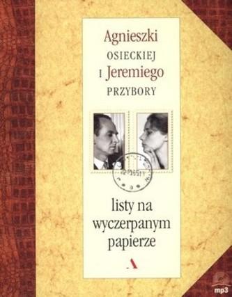 Listy na wyczerpanym papierze + CD - Jeremi Przybora