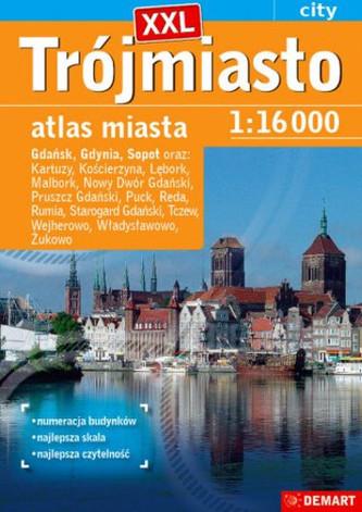 Atlas miasta - Trójmiasto plus 14 XXL