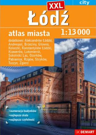 Atlas miasta - Łódź plus 15 XXL