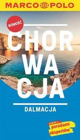 Chorwacja, Dalmacja. Przewodnik z mapą