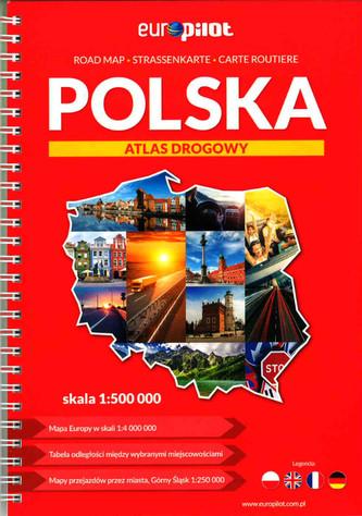Atlas drogowy. Polska.  1:500 000. Spirala