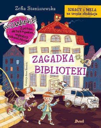 IGNACY I MELA ZAGADKA BIBLIOTEKI OP. DEBIT 9788380571112