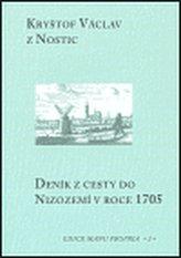 Deník z cesty do Nizozemí v roce 1705