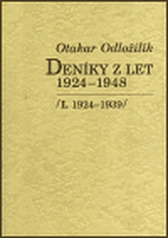 Deníky z let 1924-1948 I., II.