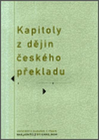 Kapitoly z dějin českého překladu