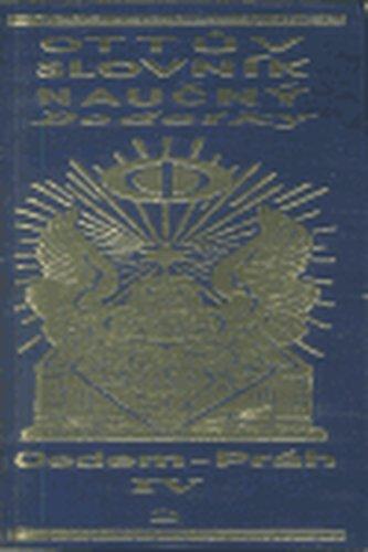 Ottův slovník naučný - Dodatky (8) IV/2