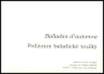 Podzimní baladické toulky - Ballades d´automne