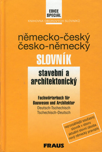 Německo-český, česko-německý slovník stavební a architektury