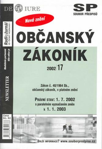 Občanský zákoník k 1.7.2002