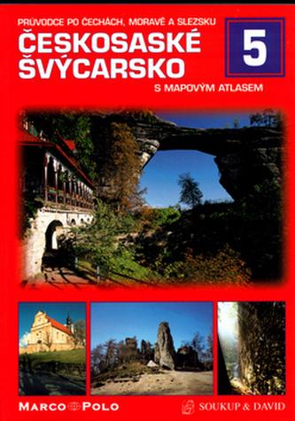 Českosaské Švýcarsko s mapovým průvodcem