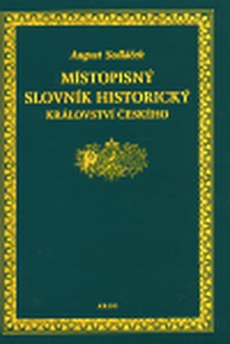Místopisný slovník historický Království českého