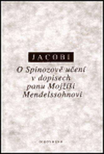 O Spinozově učení v dopisech panu Mojžíši Mendelssohnovi