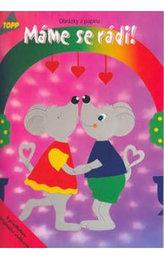 Máme se rádi! Obrázky z papíru