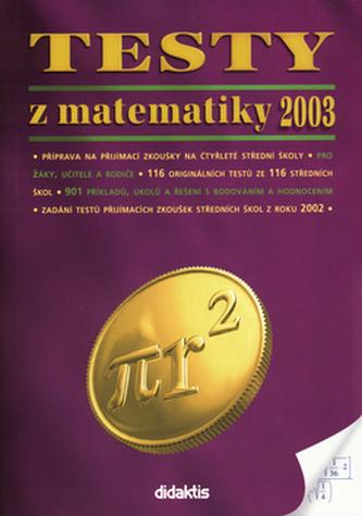 Testy z matematiky 2003
