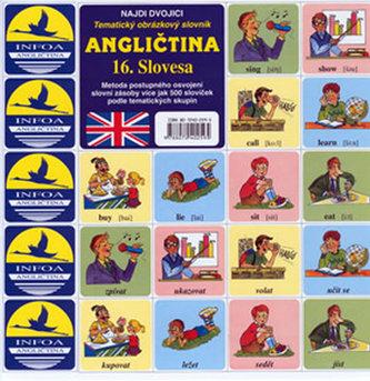 Angličtina 16.Slovesa - pexeso