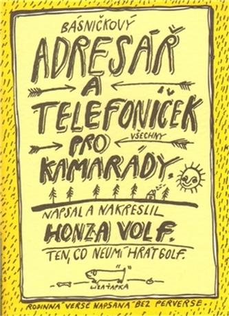 Básničkový adresář a telefoníček pro kamarády