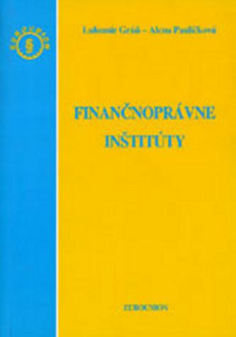 Finančnoprávne inštitúty
