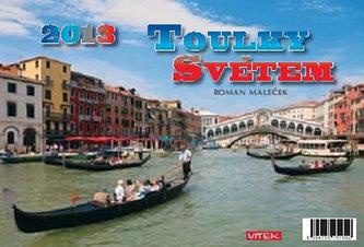 Toulky světem 2012  - stolní kalendář