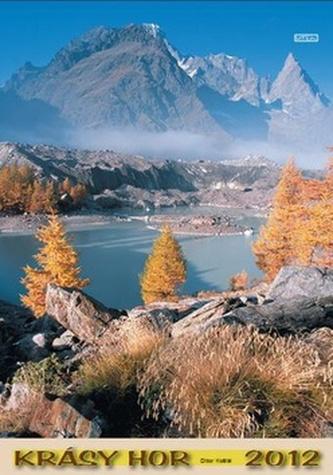 Krásy hor 2012 - nástěnný kalendář