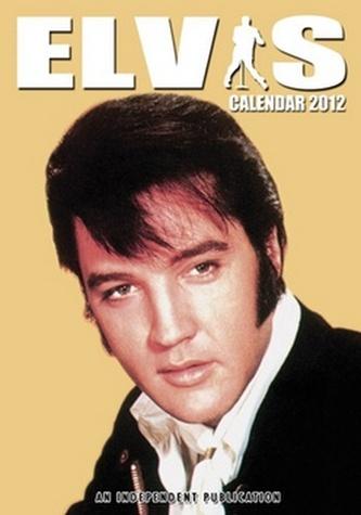 Elvis Presley 2012 - nástěnný kalendář