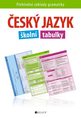 Český jazyk školní tabulky