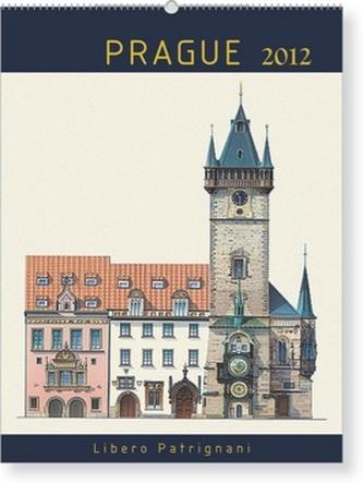 Praha Libero Patrignani 18měsíční - nástěnný kalendář 2012