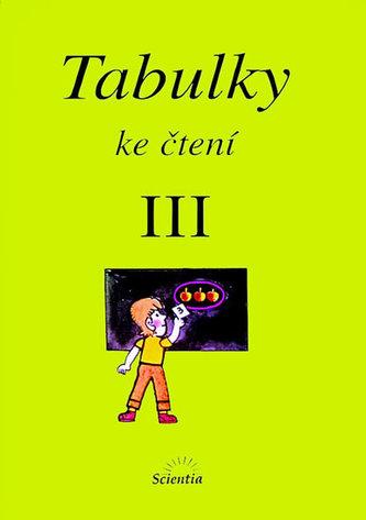 Tabulky ke čtení III. - Vladimír Linc
