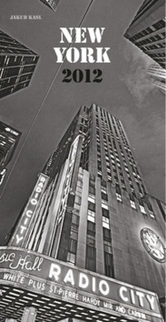 New York Jakub Kasl - nástěnný kalendář 2012