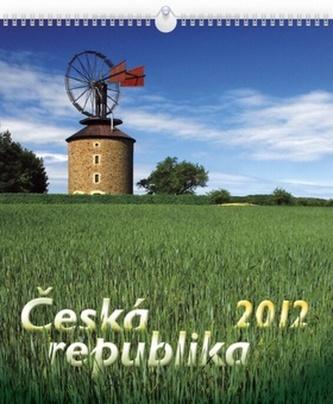 Česká republika - nástěnný kalendář 2012