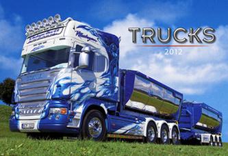 Trucks - nástěnný kalendář 2012