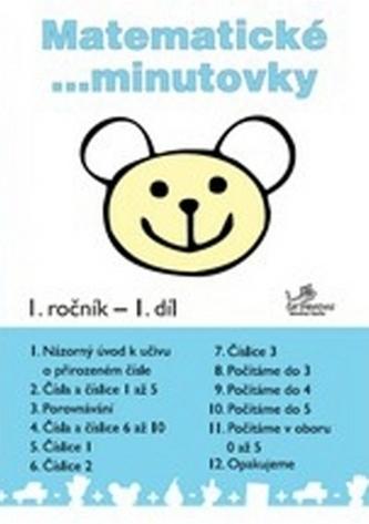 Matematické minutovky pro 1. ročník - 1. díl